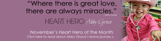 Heart Hero Abby Grace