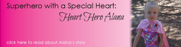 Superhero with a Special Heart