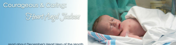 Courageous & Caring: Heart Hero Jackson